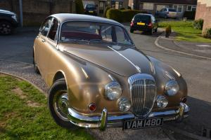 Daimler 250 v8 gold 1966 New Zealand import