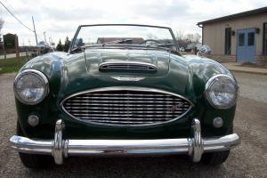 1958 AUSTIN HEALEY 100-6 BN6 TWO SEATER.  VERY GOOD CONDITION.