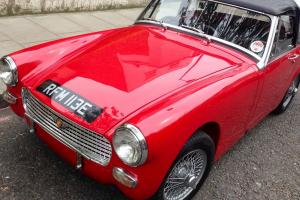 Classic sports car Austin Healey 1967 Mark IV
