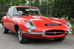 1967/F JAGUAR XK-E (E-TYPE) SERIES 1 4.2 2+2 CARMEN RED MANUAL Photo