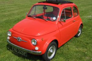 FIAT 500F - 1968 - FROM ITALY - UK REGISTERED - READY TO ENJOY!