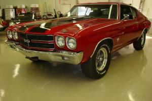 1970 Chevelle SS 454 4 sp. red with black int clean car