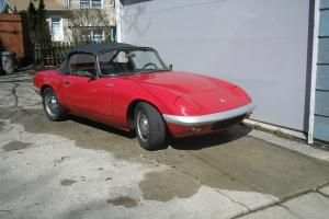 1965 Lotus Elan Base 1.6L