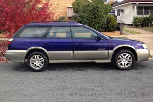 Subaru Outback Limited 1999 4D Wagon 4 SP Automatic 2 5L Multi Point F INJ in Tatura, VIC