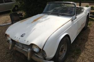 1962 LHD Triumph TR4 project car - Fresh from the Mojave desert! Runs well