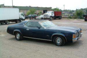 1971 Mercury Cougar Cobra Jet 7.0L XR-7 ONE OF ONE