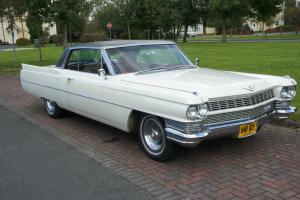 CADILLAC COUPE DE VILLE 1964 IN SUPERB CONDITION WITH HUGE HISTORY FILE