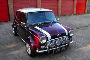 1999 ROVER MINI COOPER, 1340MPI, RARE MORELLO PURPLE COLOUR, EXCELLENT CONDITION Photo