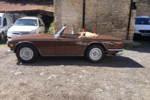 Triumph Tr6 May 1971 Photo