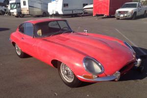 Jaguar E type 1962 3.8L coupe, excellent project for restoration!!! Photo