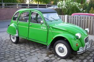 Citroen 2cv - Bamboo - galvanised chassis - summer use only last 11 years