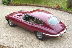 E Type Jaguar Manual with Overdrive Photo