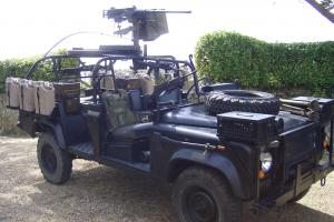 US Army Ranger Special Operations Vehicle Land Rover 110 defender RSOV