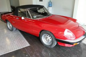 Alfa Romeo Spider 105 Graduate, Needs Recomissioning.Project LHD Left hand