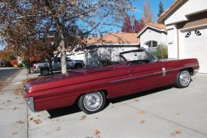 1962 Oldsmobile Dynamic 88 convertible. 107,000 miles, Folsom, CA