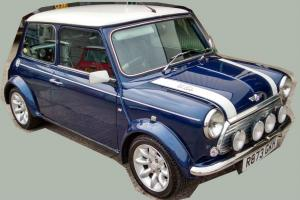 LHD 1998 MINI COOPER SPORT 1.3MPI-FULL LEATHER-WILL SHIP/DELIVER