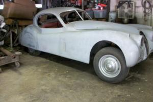 Jaguar XK120 Fixed Head Coupe, Very early 1951 car, with lots of early features