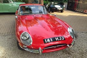 JAGUAR E TYPE 3.8 1964 SERIES 1 RHD