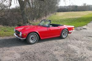 1970 Triumph TR6 2.5 Pi Photo