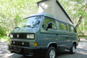 OVER $34K INVESTED 4WD VANAGON GL VAN WITH WORKING AC!