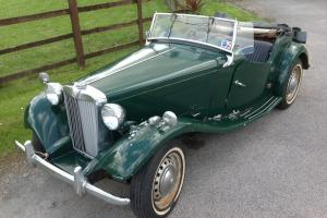 1950 LHD MG TD running & driving project car for renovation - What a find!