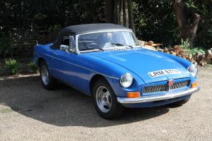MGB 3.5 v8 1976 roadster 5 speed box