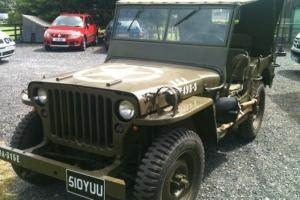 Classic Willy's Jeep 1944 Original World War 2