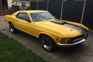 1970 FORD MUSTANG MACH 1 FASTBACK WITH ALL THE EXTRA'S