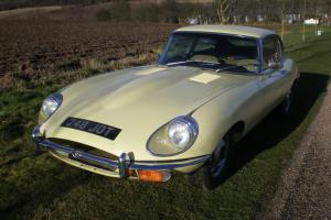 Jaguar E Type 2+2 Series 2 - 67,000 Miles Unrestored 1970 Photo