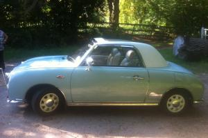 Light Blue Nissan Figaro with all its ORIGINAL FEATURES & EXTRAS!!