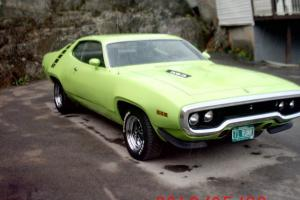 1971 plymouth road runner 383 4 SPEED