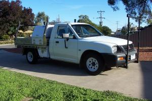 Mitsubishi Triton 2003 2WD 2 4L 5SPD Builders Racks AND Tool Boxes RWC REG