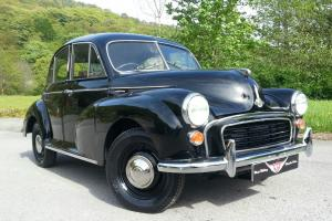 1955 Morris minor split screen saloon, recently refurbished, new paint, chrome