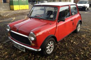 Classic Mini Rover Mini Flame Red 1990 Excellent Original Condition Limited Ed Photo