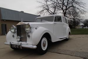 ROLLS ROYCE  WITH ALUMINUM HOOPER COACHWORK
