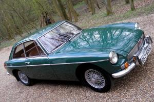 MGB GT Restored Photo