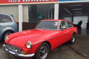 MGB GT 1.8 with overdrive