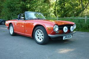 Modified Triumph TR6 1974 Photo