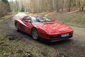 Ferrari Testarossa TR 1988 88 LHD, best price in UK, NO RESERVE AUCTION