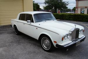 1979 ROLLS-ROYCE SILVER SHADOW II WHITE