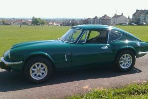 Triumph gt6 1973,emerald green with 3 owners from new..