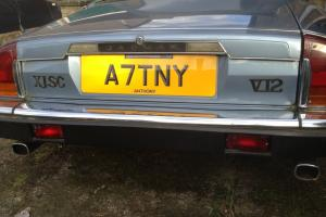 1987 Jaguar XJSC V12 EDITION - 2 owner PRIVATE no PLATE 100800 miles