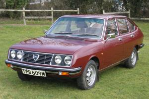 1973 Lancia Beta Series 1 1600 Saloon