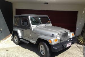 Jeep Wrangler Sport 4x4 Softtop 5SP Manual 4L Engine Silver 2001 in New Farm, QLD