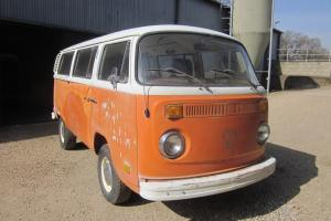 1973 VW Type 2 Bay Window Micro Bus Camper Great Project. L@@K