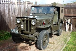 WILLYS CJ3 JEEP 1952