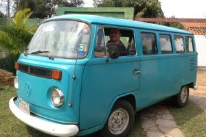 1977 14 Window Brazilian Microbus LHD - perfect for summer!