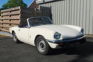 fully restored tax exempt Triumph Spitfire IV. must see, great example Photo