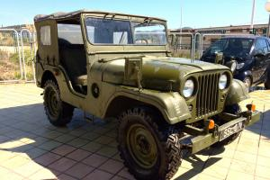willys jeep M38 A1- SPAIN LHD