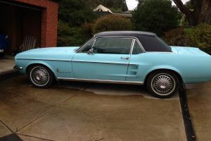 Ford Mustang 1967 2D Hardtop 3 SP Automatic 4 7L Carb in Buninyong, VIC